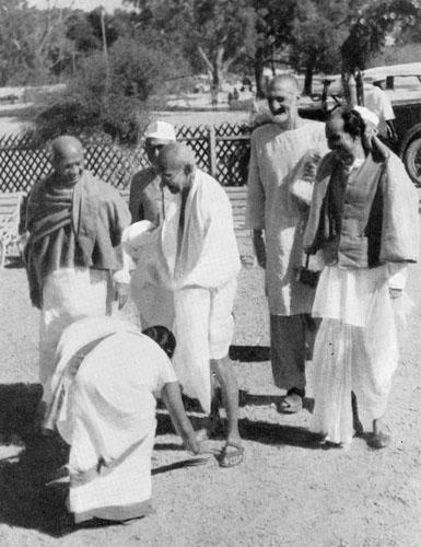 The Eleven Vows of Mahatma Gandhi